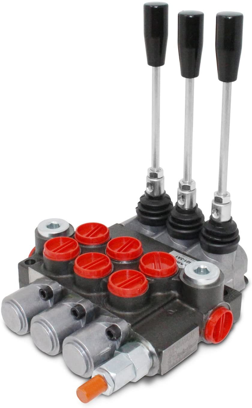 Monoblock-3_Spool_Hydraulic_Directional_Control_Spool_log_splitter_valve