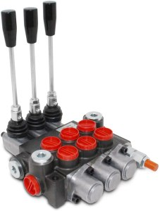 Monoblock_3_Spool_Hydraulic_Directional_Control_Spool_log_splitter_valve