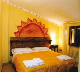 Camera Matrimoniale Albergo Foresteria San Bendetto