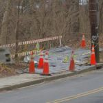 Eroding Albemarle St. sidewalk shored up and repaired after 4-year effort