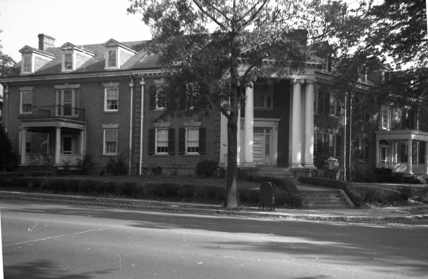 The old 4101 Connecticut. (Wymer Collection, Historical Society of Washington)