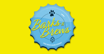 "Party with your pooches at Van Ness Main Street's 9/17 ""Barks and Brews"" fest"