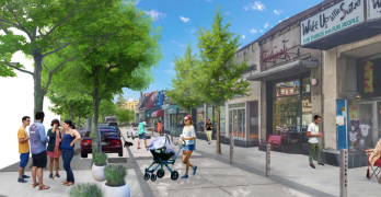 See the proposed Cleveland Park streetscape and stormwater drainage improvements
