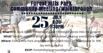 Forest Hills Park community meeting