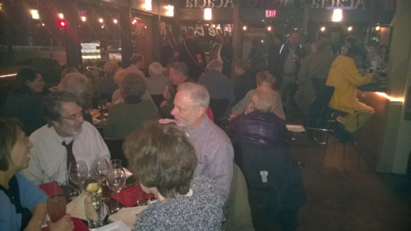 """The first """"Music at Van Ness"""" event drew quite a crowd. (photo by Mary Beth Ray)"""