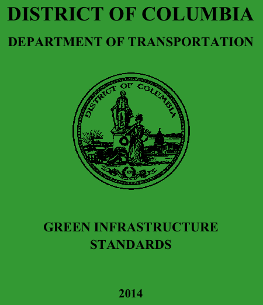 "The cover of DDOT's ""Green Book."""