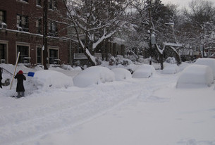Snowmageddon 2010 photo of neighboring Cleveland Park, by Flickr user kibrly.