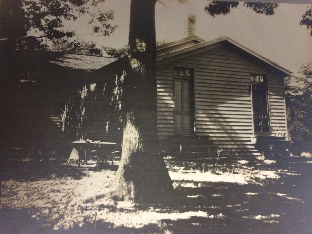Grant Road School, 1895-1905. From the collection of the Historical Society of Washington.