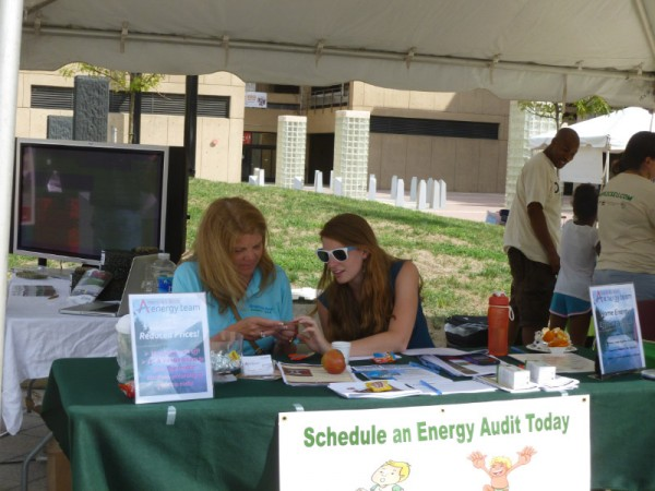 America's Best Energy Team offered information on home energy audits.