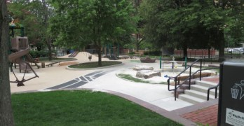 Sand, sand everywhere: Thinking outside the sandbox at Forest Hills Playground
