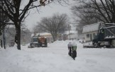 Snow plows on Connecticut