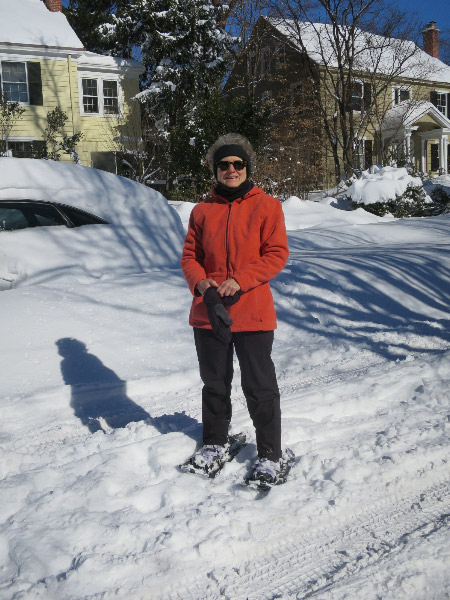 Have snowshoes, will travel.