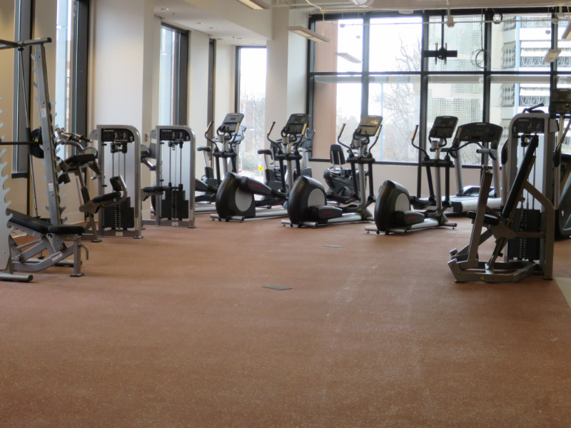 UDC fitness center