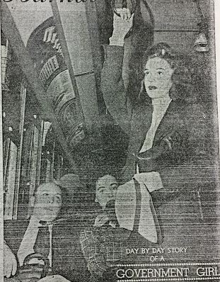 Another photo from the 1942 Times-Herald series on a fictional