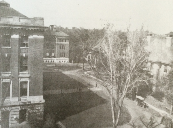 The National Bureau of Standards campus in 1918. (photo courtesy of the National Institute of Standards and Technology)