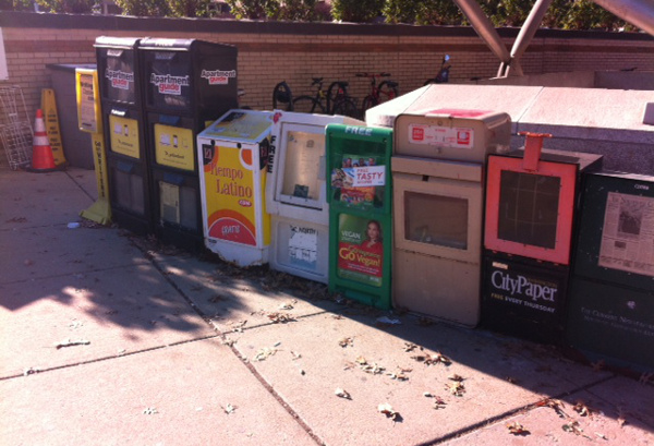 Newspaper boxes 2