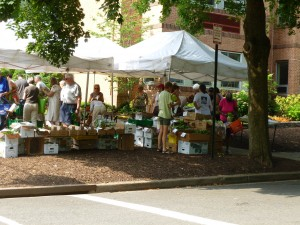 New Morning Farm market
