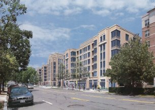 Architect's rendering of what will be called Park Van Ness.
