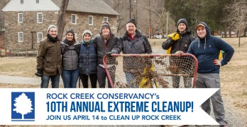 April is a spring cleaning month in our parks. Check out these volunteer opportunities