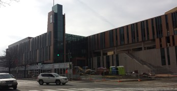 Neighborhood in the news: The nearly-complete UDC student center