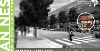OP revealing plans for Van Ness DC retail and public space at 4/28 open house