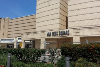 BF Saul will need new retail tenants once Park Van Ness rises up in Van Ness Square's place.