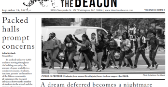 Read all about it: Wilson High's newspaper tackles crowding, DACA and more