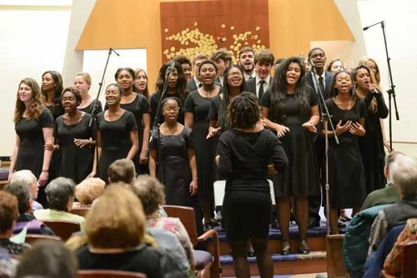 Students in Wilson High's Vocal Music Program.