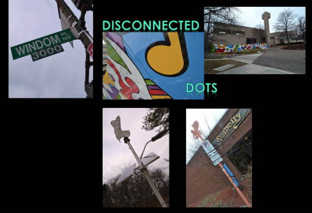 Windom problems - disconnected dots