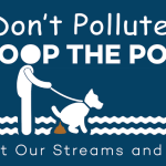 Send an important message with our lawn signs: Don't pollute! Scoop the poop