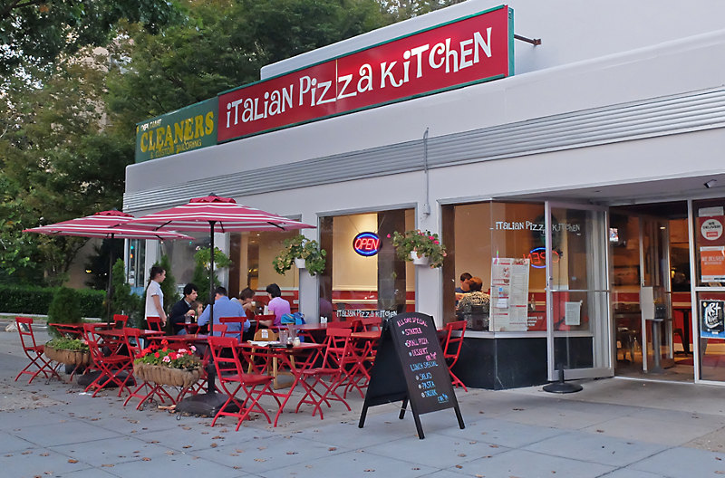 The Van Ness Italian Pizza Kitchen Gets A Great Streets
