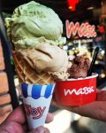Round out any Massa meal with a cone or cup of their award-winning gelato