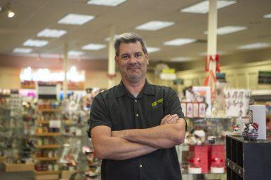 Rich Schauer is closing his Hallmark store at 7443 Madison St.