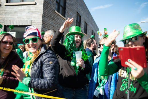 Forest Park celebrated St. Patrick's Day during the village's 25th annual parade along Madison Street on March 7. | SHANEL ROMAIN/Contributor