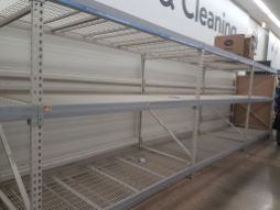 No toilet paper was available at Walmart, 1300 Desplaines Ave., on March 12.