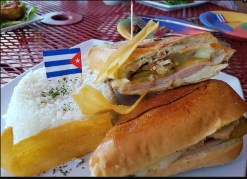 Cuban: In addition to offering their full menu for carry-out and delivery, including their signature Cuban sandwiches, Caf? Cubano is offering make-your-own Mojito kits.