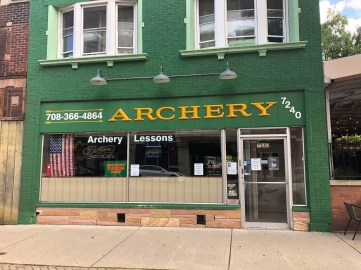 """When Terry Pryor reopened his Archery Custom Shop, 7240 W. Madison St., on June 2 his customers were """"tickled to death."""" 