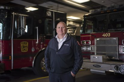 Fire Chief Bob McDermott is retiring from the Forest Park Fire Department after 32 years of service. | Alex Rogals, Staff Reporter