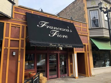 Francesca's Fiore, open since 2001, has permanently closed its doors.