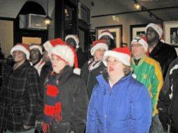 The Oak Leyden singers
