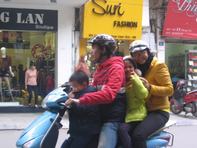 Scooterville: The motorbike seems the most popular vehicle in downtown Saigon.