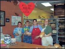 It may have been tough, but my employees and I had loads of laughs during those years. I miss them. Happy Valentines Day.