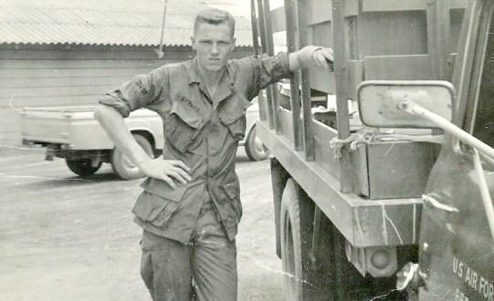Joe Byrnes, Viet Nam, 1967
