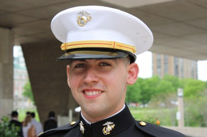 Jack Turek has graduated from Marquette with a history degree and joined the U.S. Marine Corps.