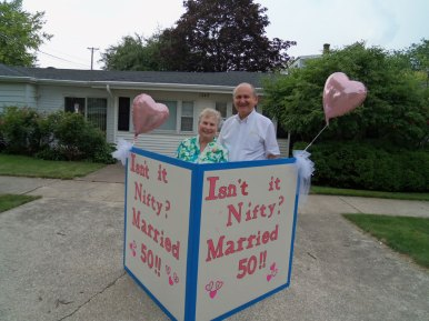 Rev. John and Nancy Helmke celebrated their 50th wedding anniversary.