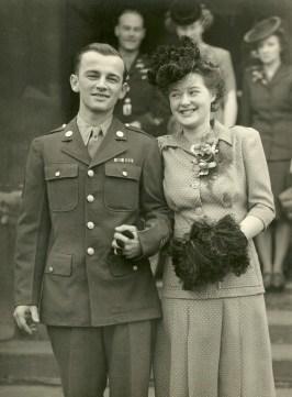 John and Joyce Klein during World War II. (Courtesy Jo Anne Johnson)