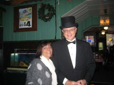 Kasey Krupa and Dave the Magician