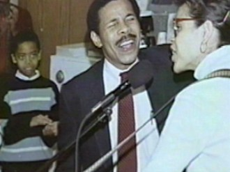 Pastor Bill Winston and wife Veronica sing at a service in 1989. (Courtesy Living Word Christian Center)