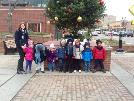 Garfield school teacher Stacie Pelletier took her special needs preschoolers on an excursion to Forest Park's Junction Diner, thanks to a SCORE grant from the Illinois Education Association. (JACKIE SCHULZ/Contributor)