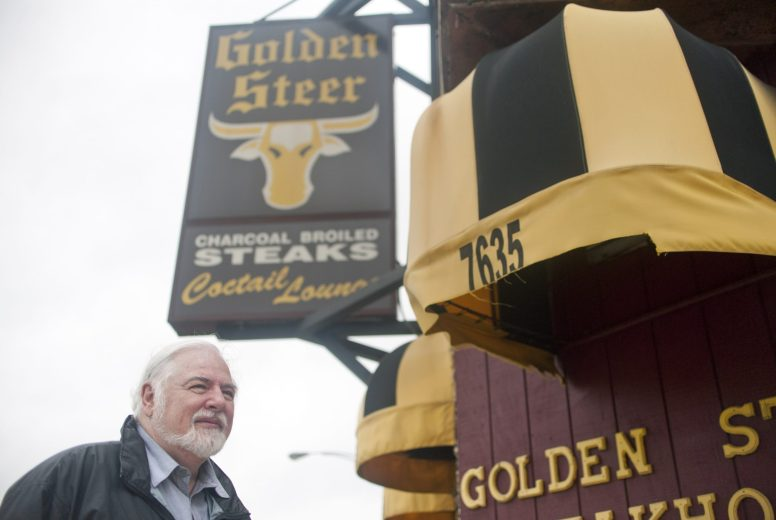 Chuck Sullivan recently held a family reunion at Golden Steer.   William Camargo/Staff Photographer
